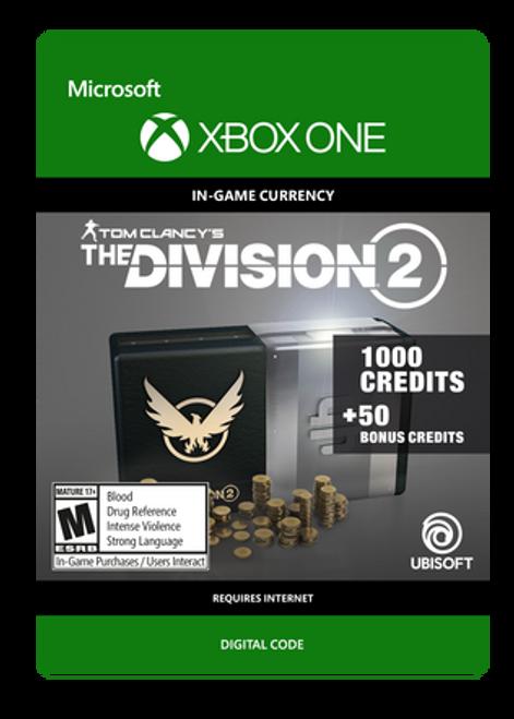 Tom Clancy's The Division 2 - 1050 Premium Credits