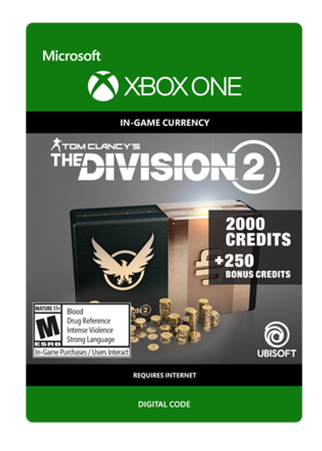 Tom Clancy's The Division 2 - 2250 Premium Credits