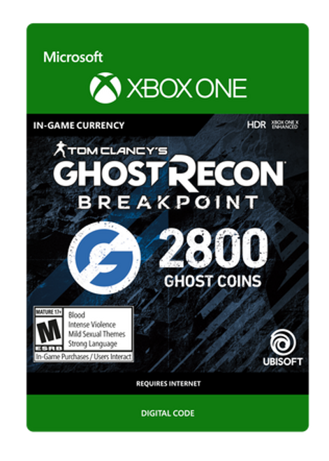 Tom Clancy's Ghost Recon Breakpoint - 2400 Ghost Coins