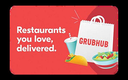 GRUBHUB Digital Gift Card