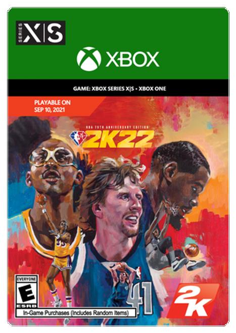 NBA 2K22 NBA 75th Anniversary Edition Xbox
