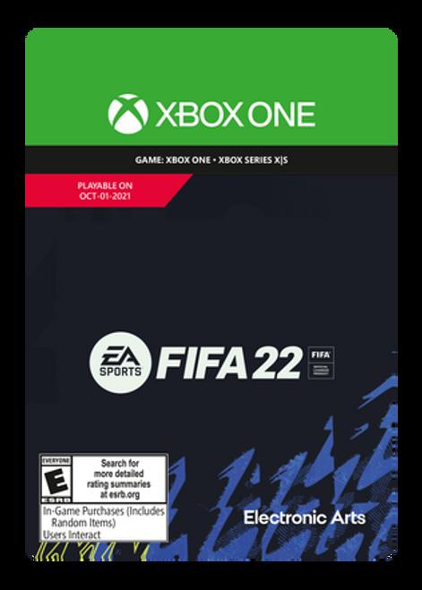FIFA 22: Standard Edition Xbox One - PRE-PURCHASE Digital Code