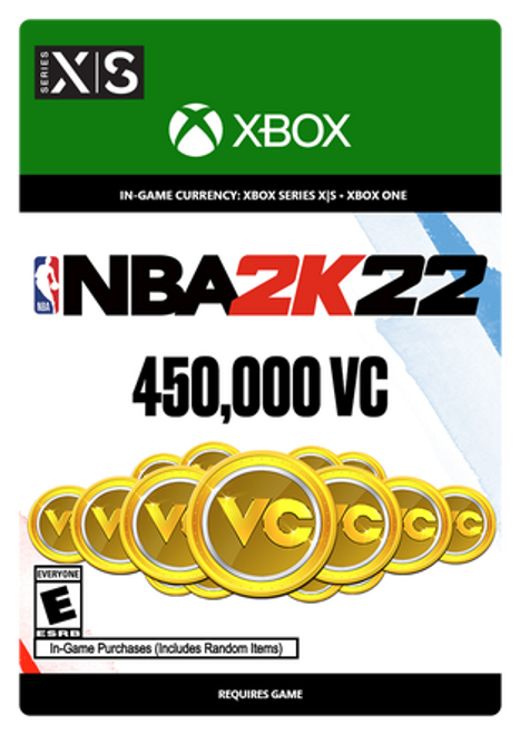 Xbox NBA 2K22: 450000 VC