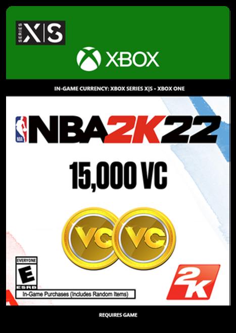 Xbox NBA 2K22: 15000 VC