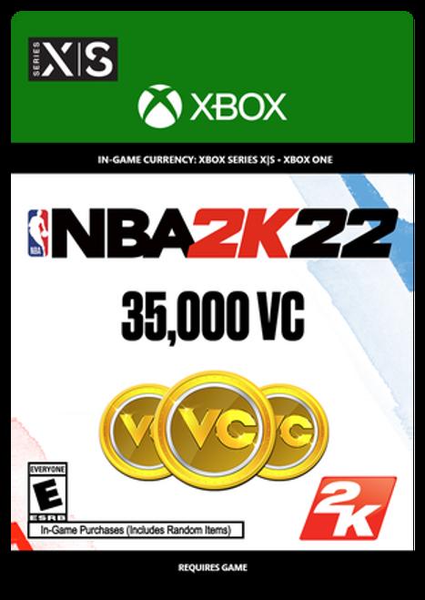 Xbox NBA 2K22: 35000 VC