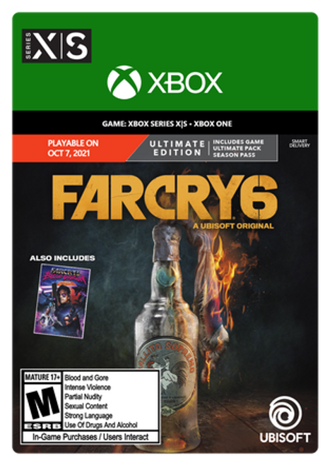 Far Cry 6 Ultimate Edition - PRE-PURCHASE