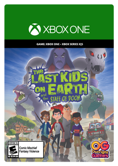 Xbox The Last Kids on Earth and the Staff of Doom
