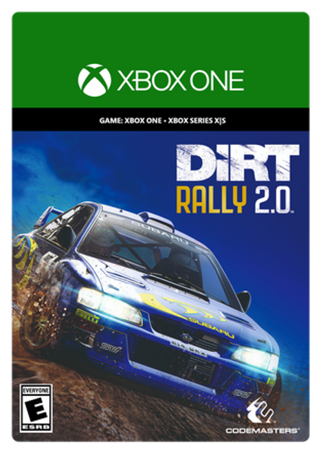 Xbox DiRT Rally 2.0