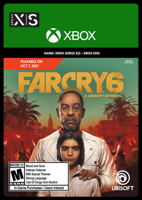 Far Cry 6 Standard Edition - PRE-PURCHASE Digital Code