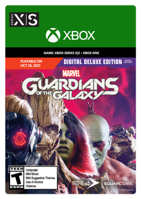 Marvel's Guardians of the Galaxy Digital Deluxe - PRE-PURCHASE Digital Code