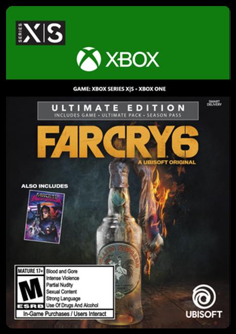 Xbox Far Cry 6 Ultimate Edition Digital Code