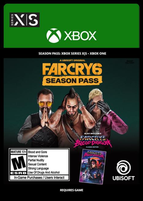 Xbox Far Cry 6 Season Pass Digital Code