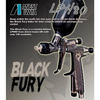 Iwata LPH-80 Black Fury LIMITED EDITION Spray Gun & Spot Refinishing Kit