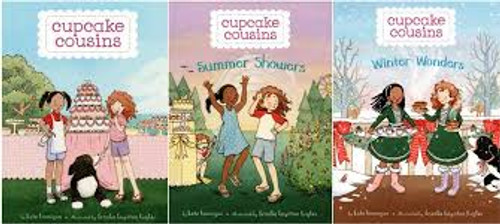 Trio of Cupcake Cousins by Kate Hannigan