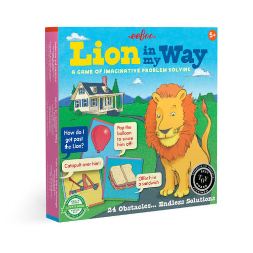Lion in My Way Board Game