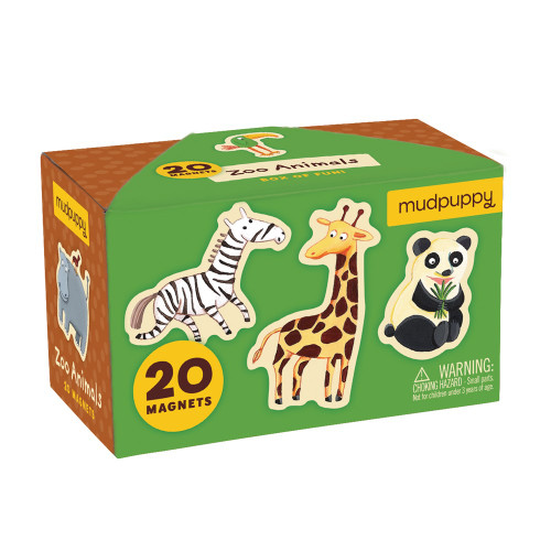 Zoo Animals Box of Magnets
