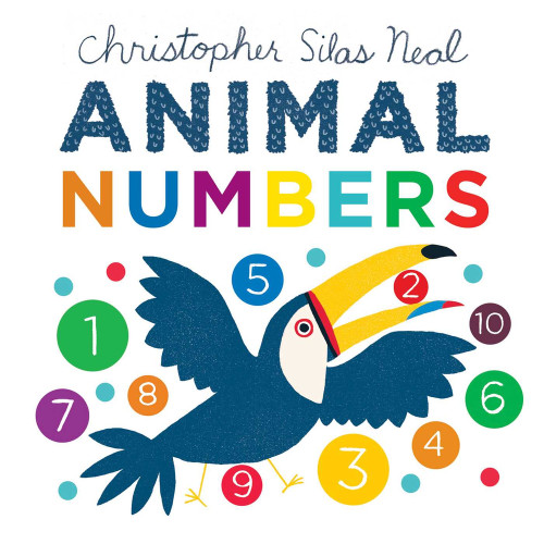 Animal Numbers (board book)
