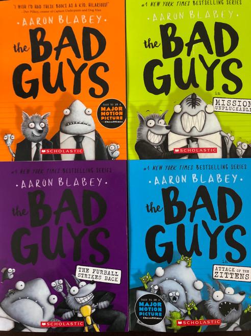 Bad Guys Vol. 1-4