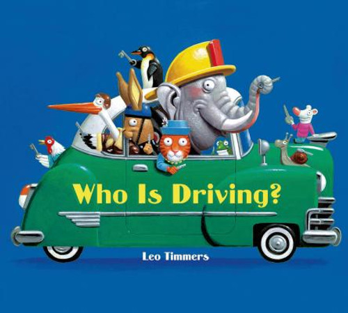 Who is Driving? (board book)
