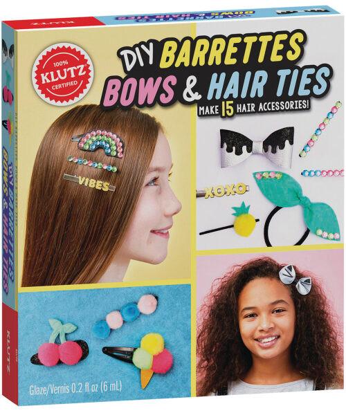 DIY Barrettes Bows & Hair Ties