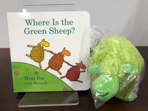 Where is the Green Sheep? (Book & Plush)