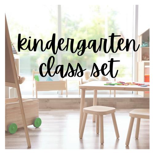 Kindergarten Class Set