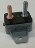 50 amps, circuit breaker, short stop, cooper bussmann, plastic cover, bracket, stud terminals, type 3, manual reset, 123a50-a1p