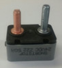 50 amps, circuit breaker, short stop, cooper bussmann, plastic cover, stud terminals, type 3, manual reset, whiz lock nut
