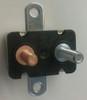 30 amps, circuit breaker, short stop, cooper bussmann, metal cover, stud terminals, type 1, auto reset, bracket, 121A30-A2M