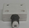 """mechanical products, 30 amp, push to reset, circuit breaker, 7/16"""" bushing, screw terminals bent 90 degrees 1600-082-300,806515"""