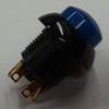 P9-213126, push button, raised blue, two circuit, otto, momentary, switch, P9, otto,