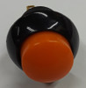 P9-213123, push button, raised orange, two circuit, otto, momentary, switch, P9, otto,  normally open, normally closed, spring loaded