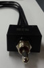 dpdt momentary waterproof toggle switch,  spring return to center off position,  wire leads, dust proof, water proof, 1193wp
