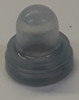 "push button boot, 3/8""-32 thread, clear, apm hexseal, c1221/23 4"