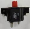 1810-E1-1-3T-0200-13, water proof, circuit breaker, manual, push to reset, 18 series, 20 amps, stud terminals