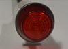 indicator light, 125 volt, led, red, high hat, wire leads, half inch mounting, 1092C1-125VAC