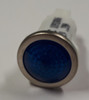 indicator light, 12 volt, led, blue, spade terminals, half inch mounting, 1092QD6-12V