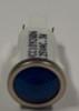 indicator light, 125 volt, led, blue, spade terminals, half inch mounting, 1092QD6-125VAC