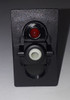 V1D1BC0B Carling V Series Rocker Switch, On-Off, Single Dependent Red LED,75302-48