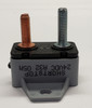5 amps, circuit breaker, short stop, cooper bussmann, plastic cover, bracket, stud terminals, type 3, manual reset, 1230a05-a2p