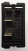 L11D1ENN1 Carling L series rocker switch, raised bezel, single pole, On-Off, 1 Ind & 1 Dep Amber Leds