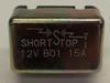 15 amps, circuit breaker, short stop, cooper bussmann, metal cover, stud terminals, type 1, auto reset, 121b15-00m-ka