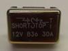 30 amps, circuit breaker, short stop, cooper bussmann, metal cover, stud terminals, type 1, auto reset, 121b30-00m-ka