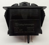 V1D1S00B, switch, marine, auto, rocker, on-off, single pole, sealed, Carling, V Series, ignition protected,033-0809,251212,645-112