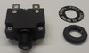 CMB-203-11C3B-B-A/20 Mini 20 Amp Thermal Breaker M11 Bushing, Spade Terminals, metric mounting circuit breaker