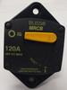 120 amps, circuit breaker, type 3, manual reset, switchable, cooper bussmann, 187 series, marine circuit breaker, 187120P-03-1
