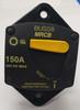 150 amps, circuit breaker, type 3, manual reset, switchable, cooper bussmann, 187 series, marine circuit breaker, 187150P-03-1
