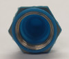 full toggle switch boot, 15/32-32, Thread, blue, protective switch cover, C1131/35-68 BLUE