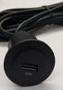 usb port, usb plug, automotive usb, rv, marine usb, single port, phone charger, ipad, iphone, smartphone usb charger plug,  usb socket, extension cord, usb plug 12 foot cord