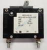 Eaton Heinemann circuit breaker, AM1S series, single pole, 15 amps, stud mount, AM1S-A3-A-0015-02E